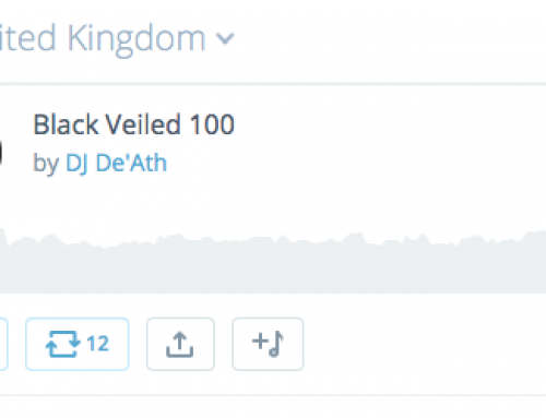 Black Veiled 100 podmix No 1 in UK indie chart on Mixcloud
