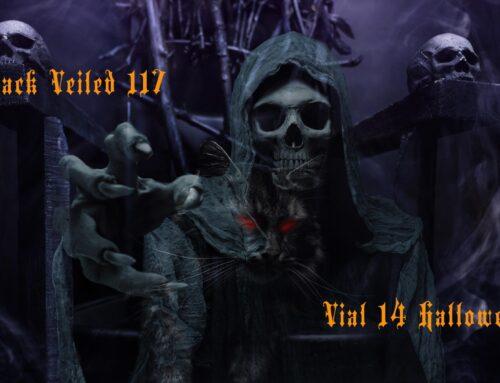 Black Veiled 117 Vial 14 Halloween